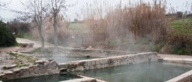 Free natural hot springs